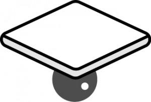ある基準より下に(ある)イメージ ※ 位置は真下である必要はない