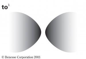 「Xと Yが向かい合っている、相対している」イメージ