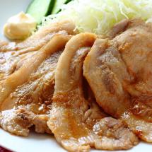 「豚の生姜焼き」(豚肉のしょうが焼き)は英語でどう言う?